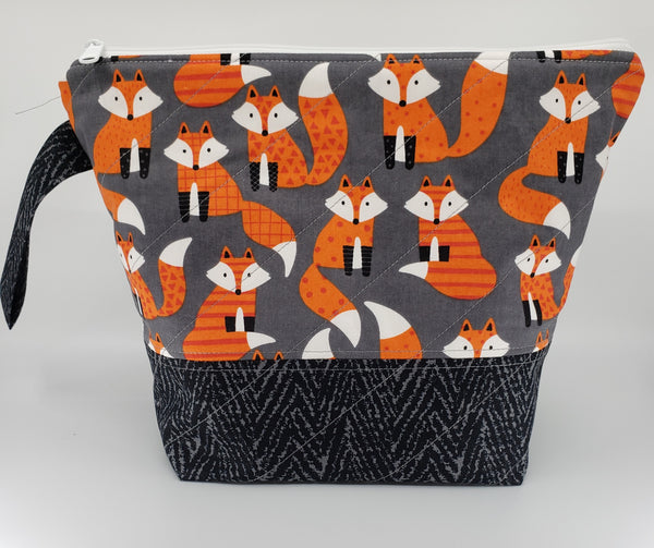 Cute as a Fox - Project Bag - Medium