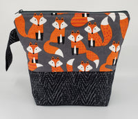 Cute as a Fox - Project Bag - Small