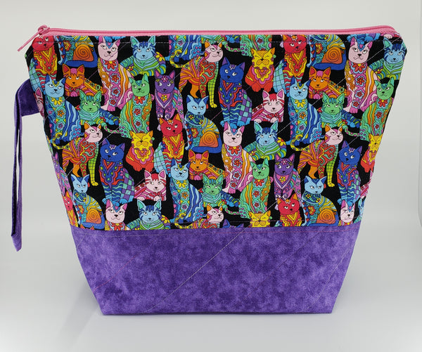 Fancy Cats - Project Bag - Medium