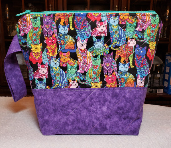 Fancy Cats - Project Bag - Small