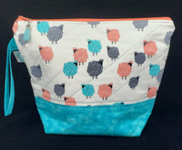 Fluffy Sheep - Project Bag - Medium