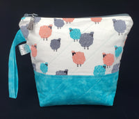 Fluffy Sheep - Project Bag - Small
