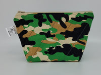 Green Camo - Notions Bag
