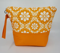 Hot Orange - Project Bag - Small