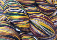 6 Indian Corn - Self-Striping - MS Sock 100 - Crafting My Chaos