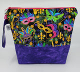 Mardi Gras -  Project Bag - Medium