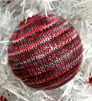 Sock Yarn Ornaments - Knit