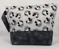 Mickey Mouse - Project Bag - Medium - Crafting My Chaos