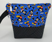 Mickey Mouse Standing - Project Bag - Small