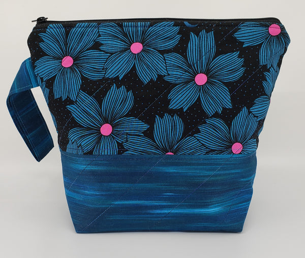 Moonlight Flowers - Project Bag - Small