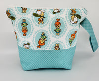 Pebbles and Bam Bam - Project Bag - Small