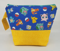 Pokemon - Blue - Project Bag - Small