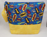 Pow! - Project Bag - Medium - Crafting My Chaos