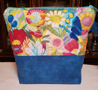 Pretty Flowers - Project Bag - Small