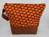 Pumpkin Spice Dark - Project Bag - Medium