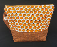 Pumpkin Spice Light - Project Bag - Medium
