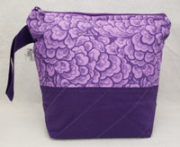 Purple - Project Bag - Small - Crafting My Chaos