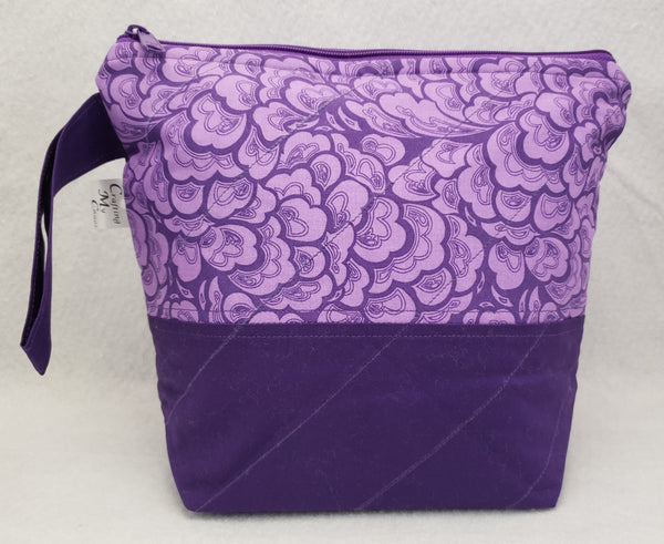 Purple - Project Bag - Small