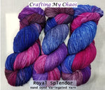 Royal Splendor - Variegated Merlin 100 - Crafting My Chaos