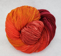 Scarlett's Sunset - Variegated Merlin 100 - Crafting My Chaos