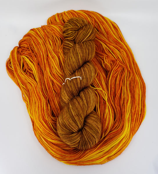 Yarn Kit - Tequila Sunrise/Ginger Snaps