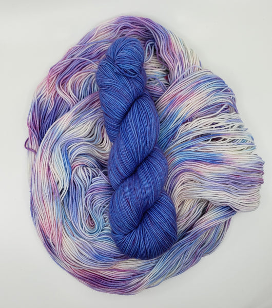 Yarn Kit - Birthday Cake/Electric Blue