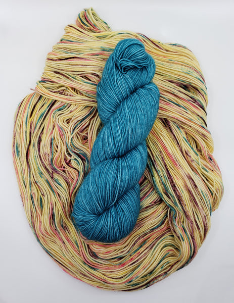 Yarn Kit - Fling/Teal Escape