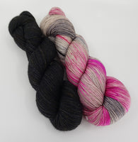 Yarn Kit - Pink Ladies/Black Cat