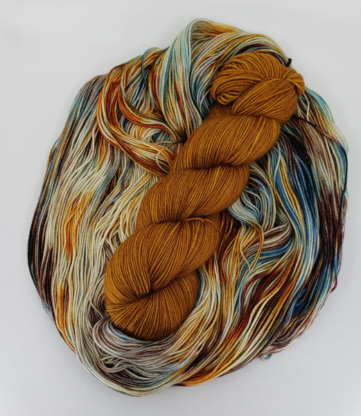 Yarn Kit - River Rocks/Ginger Snaps