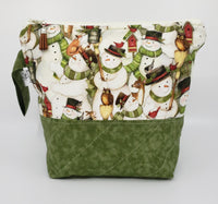 Snowmen - Project Bag - Small