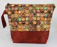 Soda Bottle Caps - Project Bag - Medium