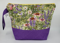 Spring Flowers - Project Bag - Medium