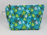 Teal Stars - Notions Bag - Crafting My Chaos