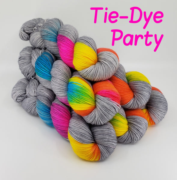 Tie-Dye Party - MS Sock 100
