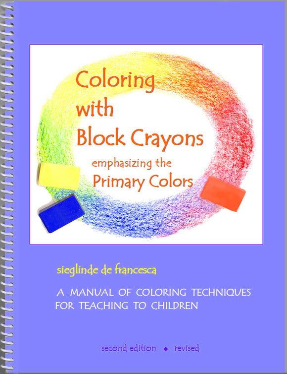 Coloring with Block Crayons (book)