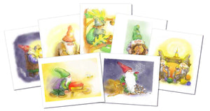 7 Donsy of Gnome Cards to print