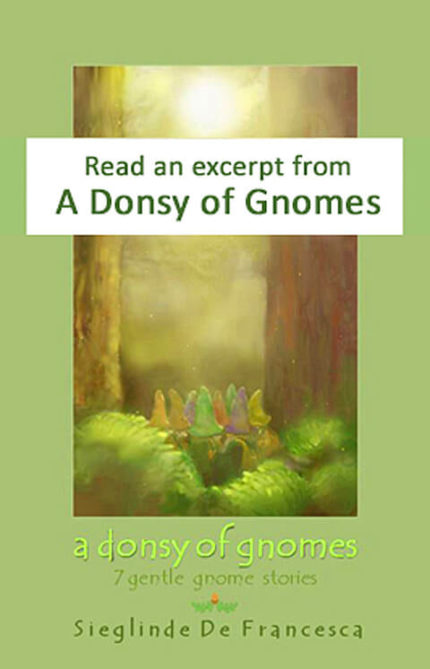 Sample pages from A Donsy of Gnomes