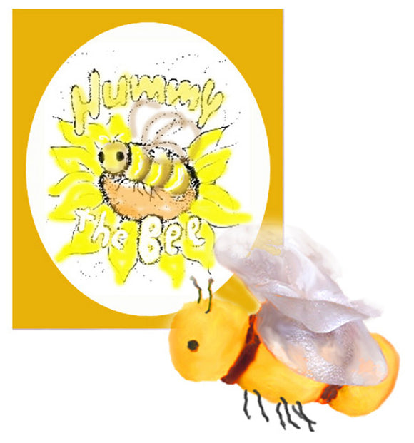 Hummy the Bee - book & puppet downloadable kit