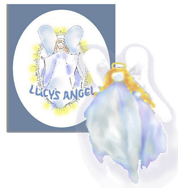 Lucy's Angel - book & angel puppet downloadable kit