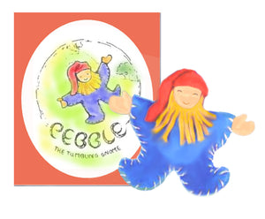 Pebble the Tumbling Gnome - book & toy instructions downloadable kit