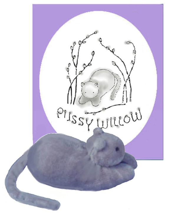 Pussy Willow - book & kitten toy instructions downloadable kit