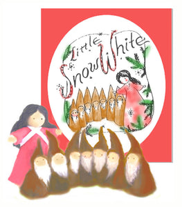 Snow White - script & instructions for making puppets & performing, downloadable kit