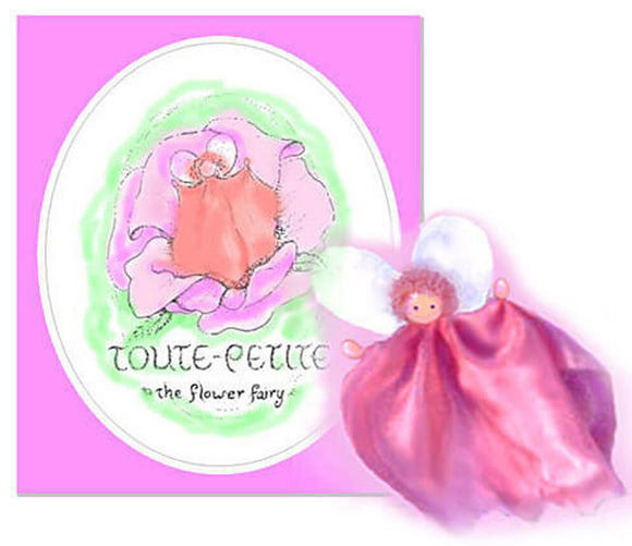 Toute Petite - storybook & instructions for making fairy, downloadable kit