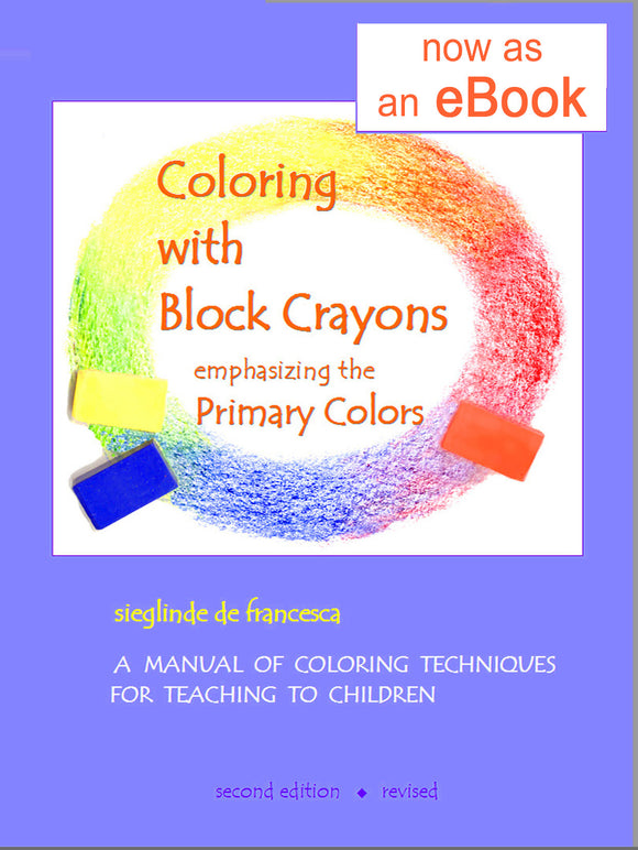 eBook of Coloring with Block Crayons