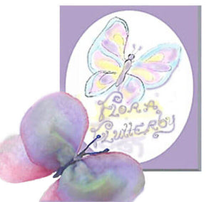 Flora Flutterbye - book & butterfly puppet downloadable kit