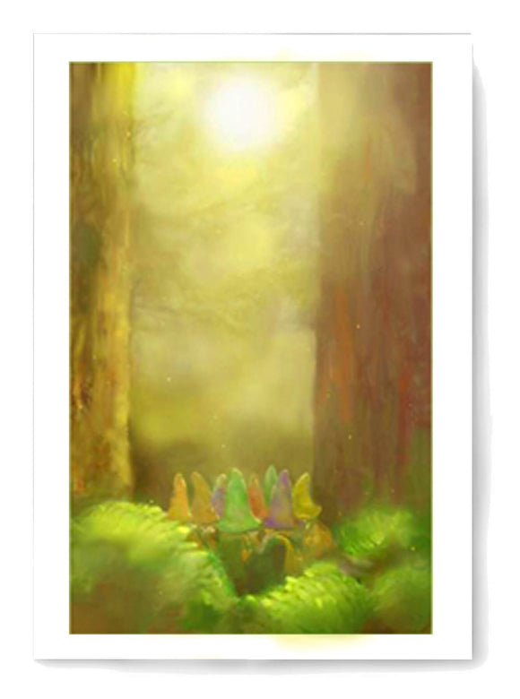 Free Limindoor Woods card to print