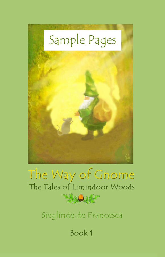Sample pages from The Way of Gnome: Book 1