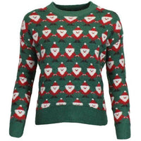 Womens Xmas Novelty Christmas Santa Jumper