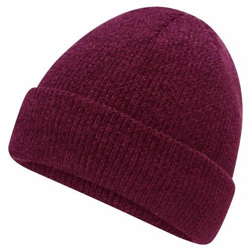 Womens Chenille Premium Thermal Beanie Hat