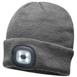 Unisex Beanie Hat with LED Head Light - MA000346